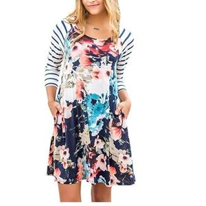 Dresses & Skirts - Spring Floral Print Dress
